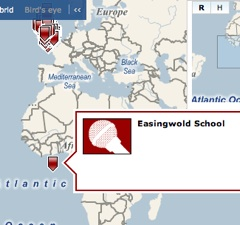 Easingwold School adrift off Africa
