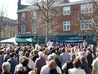 Easter Baptisms in York 2007