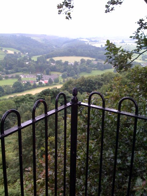 View of Nidderdale from The Rock