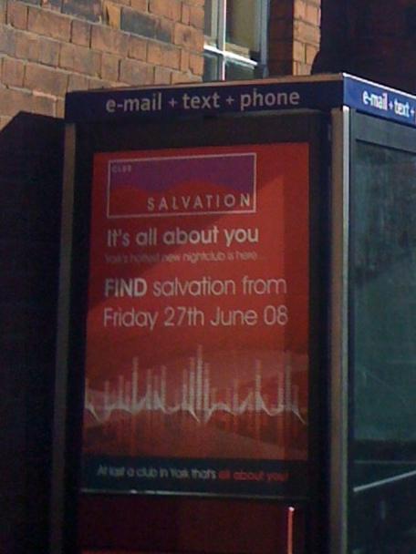 Salvation Advert